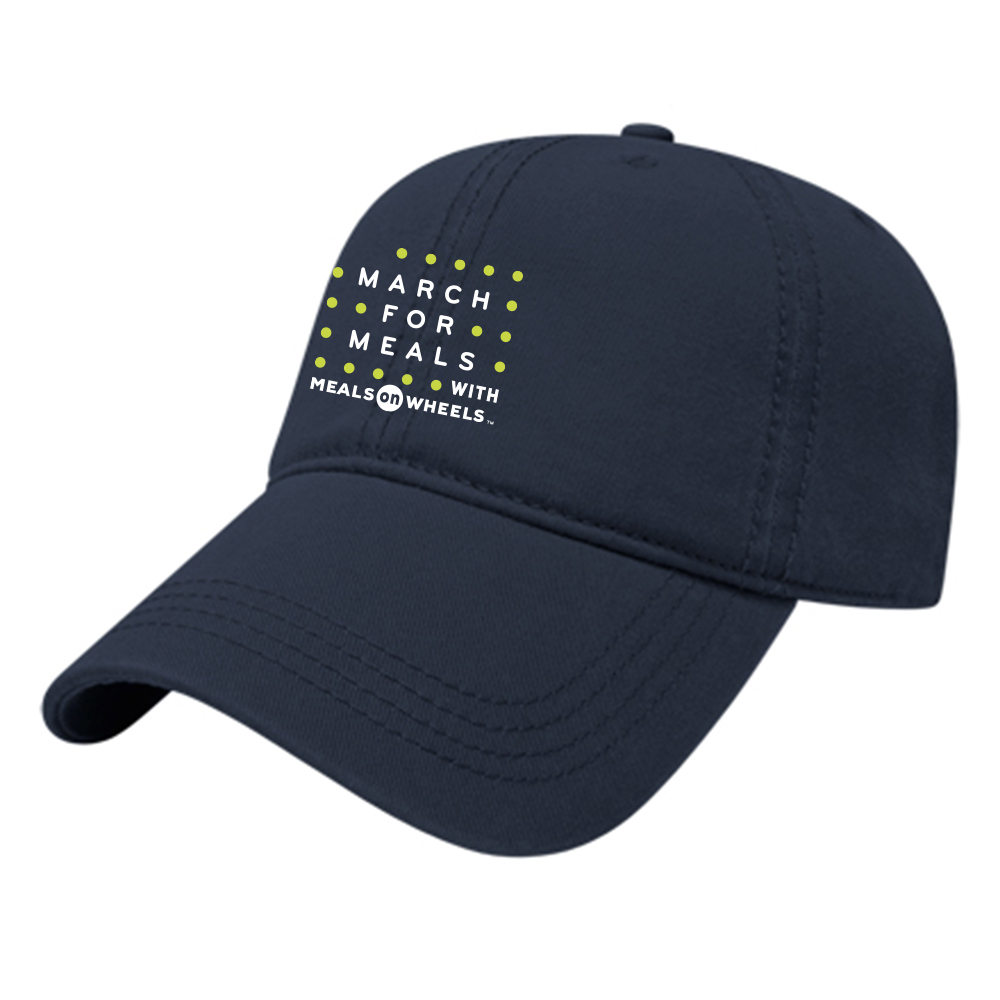 MARCH FOR MEALS CHINO TWILL CAP